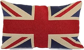 Brentwood Originals Tapestry Toss Pillow, Union Jack