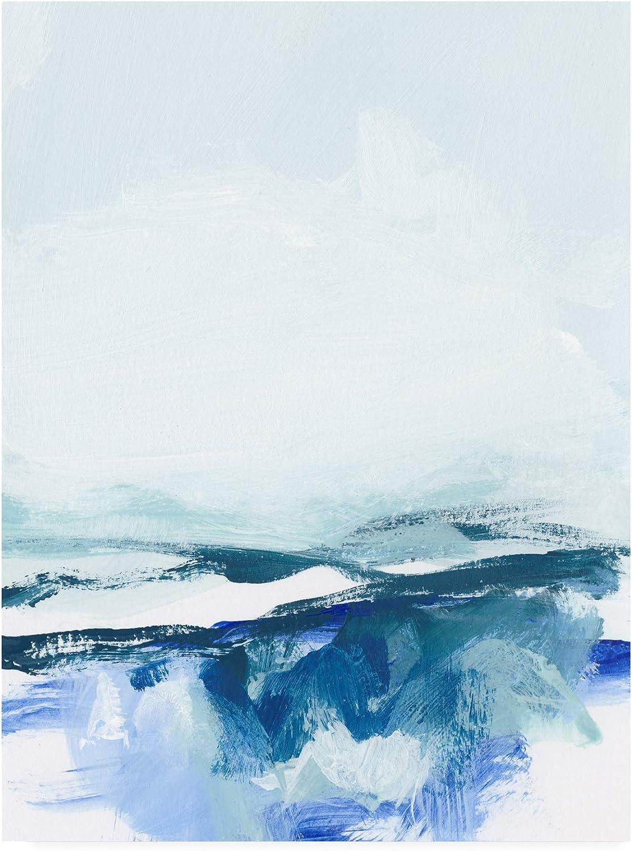 Trademark Fine Art Coastal Abstract Vi by Christina Long, 14x19
