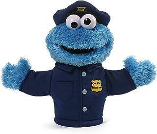 Sesame Street Cookie Monster Police Officer Hand Puppet Plush