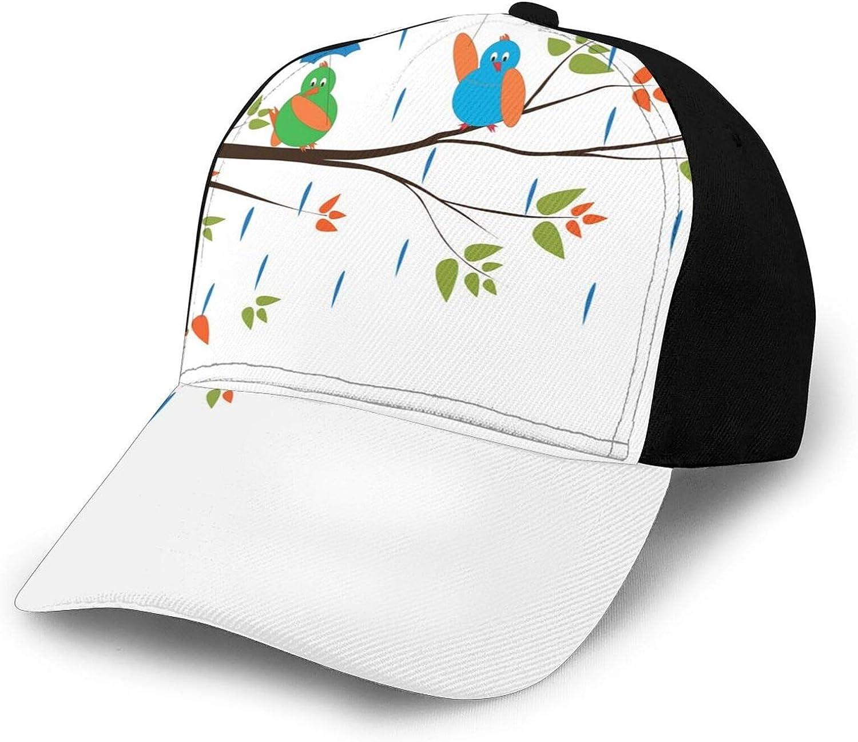 GULTMEE Funny Hat for Mens Womens Fisherman Baseball Hat Adjustable Outdoor Hats Black
