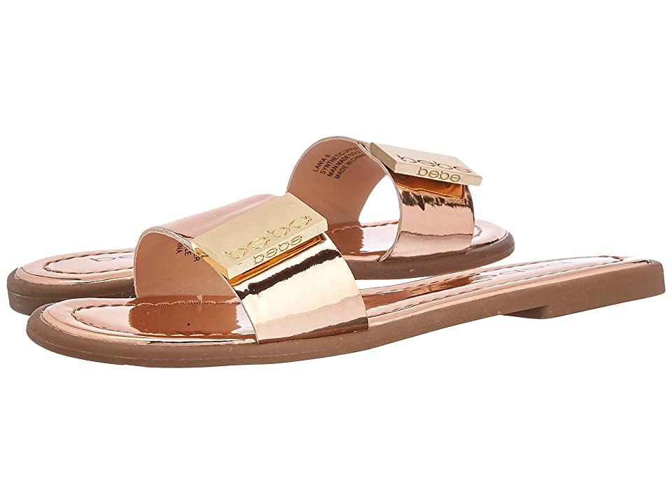 Bebe Lania (Rose Gold Metallic) Women