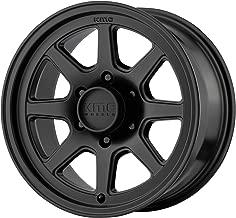 KMC Turbine 16X8 6X139.70 Satin Black (0 MM) Wheel