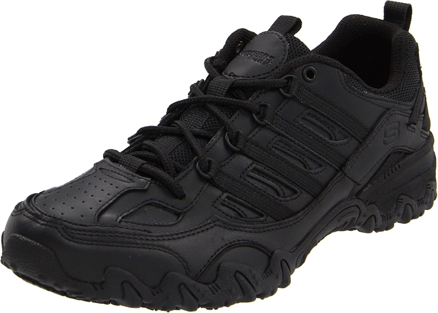 Skechers for Work Women's Compulsions Chant Slip Resistant Lace-Up shoes