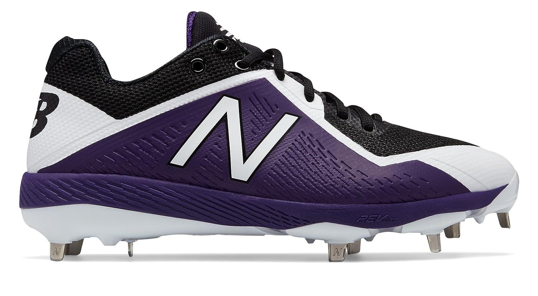 (ニューバランス) New Balance 靴?シューズ メンズ野球 4040v4 Black with Purple ブラック パープル US 11 (29cm)