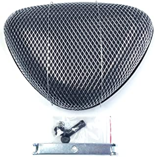 Hot Rod Super Flow Low Profile Triangle Air Cleaner - Performance Rat Rod, Street Rod, Compatible with Holley/Edelbrock/Carter/Q-Jet Carburetors