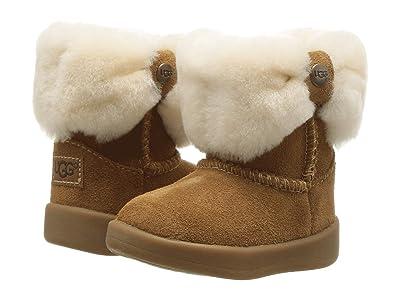 UGG Kids Ramona (Infant/Toddler) (Chestnut) Girls Shoes