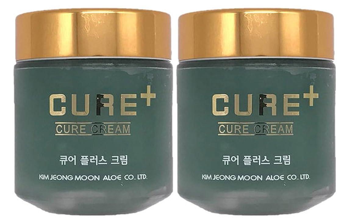 ガイド元気な恥ずかしい[キムチョンムン] Kim Jung Moon アロエ キュアプラス キュアクリーム 80g 手肌を保護 肌の鎮静 肌の保湿 海外直送品 (Aloe Lecense Loewe Cure Plus Cream Skin Moisturizing Protection Soothing Effect of Aloe CURE CREAM 2.8oz(80g)) (2EA)