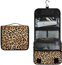 Sieraden doos sieraden opslag toiletrachtig, vintage stijl, luipaard patroon, reistas, cosmetische tas, make-up, accessoir...