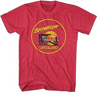 Baywatch 90s Beach Drama Series Lifeguard Station Adult T-Shirt Tee