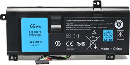 Reparo 69Wh 11.1V G05YJ Laptop Battery for Dell Alienware m14x A14 14 R4 14D-1528 ALW14D 0G05YJ Y3PN0 8X70T
