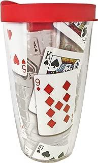 Tervis Tumbler 16oz, Playing Card Design