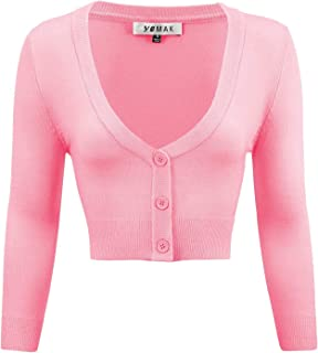 Best light pink cropped sweater Reviews