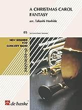 Hal Leonard A Christmas Carol Fantasy Concert Band Composed by Takashi Hoshide