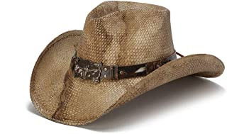 Stampede Hats Men's Outside Man Rustic Longhorn Western Hat