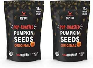 Sponsored Ad - Top Fox Snacks - Organic Pop-Roasted Pumpkin Seeds | Healthy Protein Snacks - Gluten Free - Keto and Vegan ...
