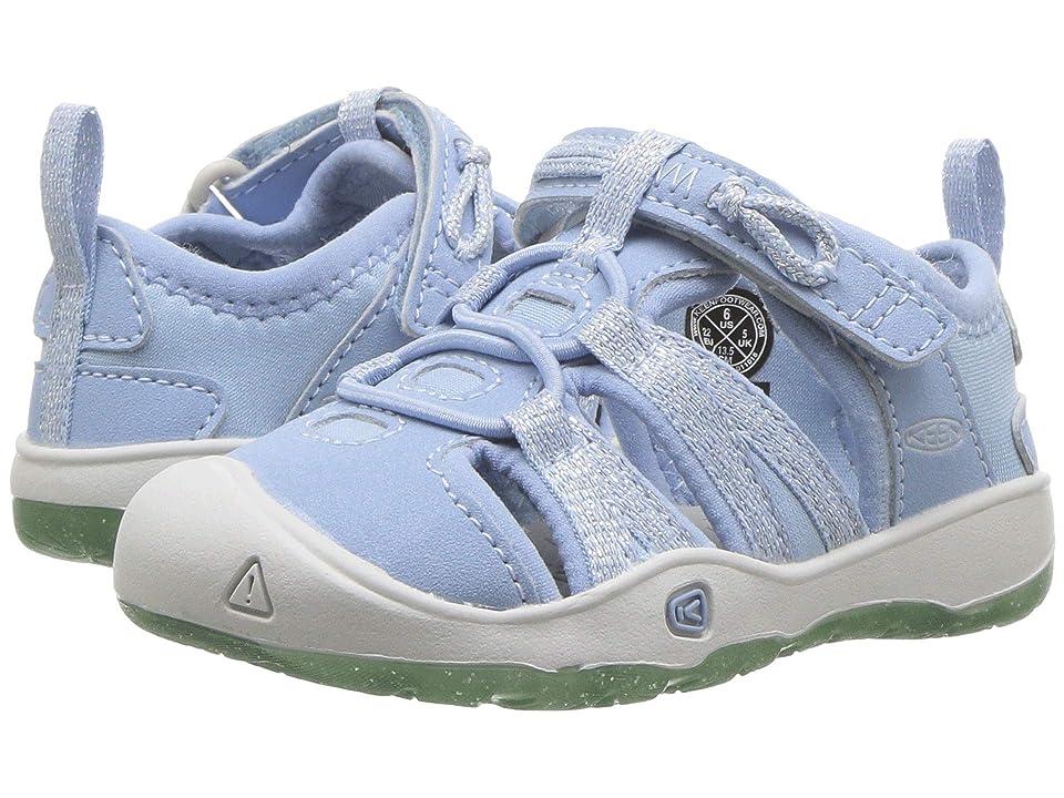 Keen Kids Moxie Sandal (Toddler) (Powder Blue/Vapor) Girls Shoes