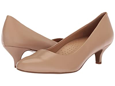 Trotters Kiera (Nude Soft Leather) Women
