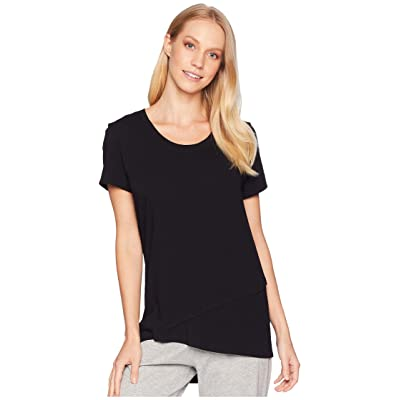 Jockey Short Sleeve Top (Black) Women