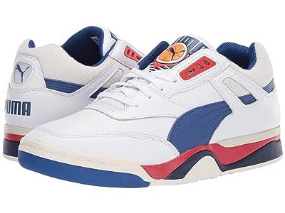 PUMA Palace Guard OG (Puma White/Surf the Web/High Risk Red) Shoes