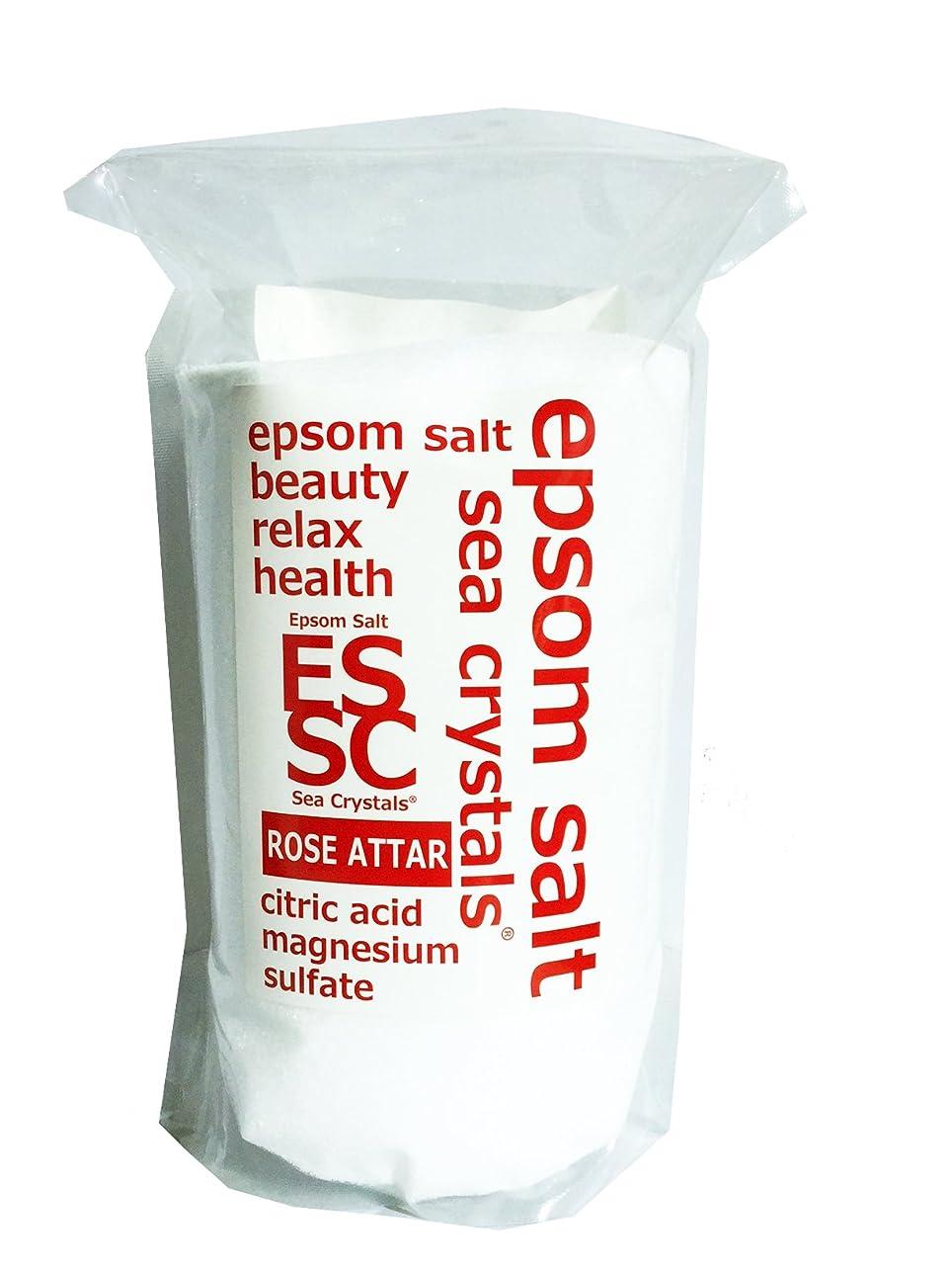 糞ささいな百年【Amazon.co.jp 限定】エプソムソルト 2.2kg ローズオットーの香り 入浴剤 (浴用化粧品)クエン酸配合 計量スプーン付