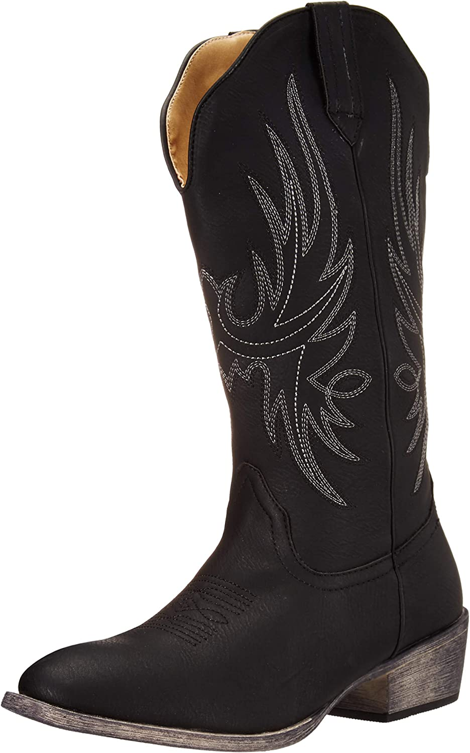 Silber Canyon Stiefel and Clothing Company Westcowgirl Cowboystiefel Cowboystiefel   Cimmaron Round Toe für Damen