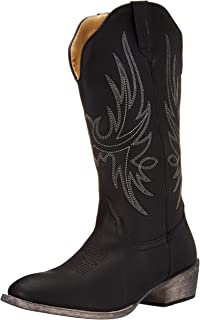 Women's Western Cowboy Boot | Cimmaron Country Round Toe by Silver Canyon
