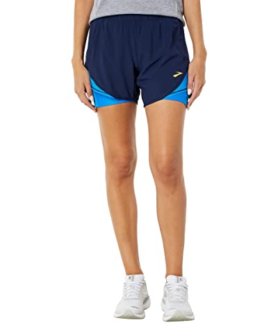 Brooks Chaser 5 2-in-1 Shorts