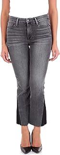 FRAME Women's LCMBSG278WEBBERBLACK Black Cotton Jeans