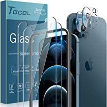 TOCOL 4 Pack Compatible with iPhone 12 Pro Max (Not for...