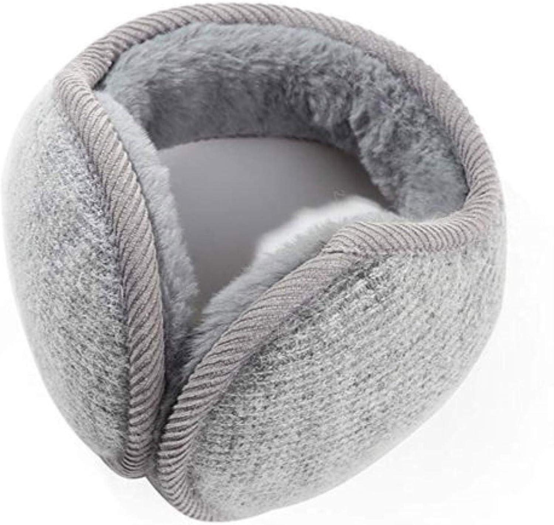 Unisex Foldable Ear Warmers Polar mens foldable earmuffs Plush Cloth Earmuffs Winter Outdoor Ear Warmer