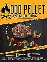 Sponsored Ad - Wood Pellet Smoker Grill Cookbook: The Complete Wood Pellet Smoker and Grill Cookbook. 200+ Tasty Recipes f...