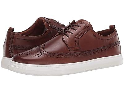 Kenneth Cole New York Colvin 2.0 Brogue Sneaker (Cognac) Men