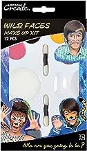 Amscan International 9901440 Wild Faces Make Up Ki...