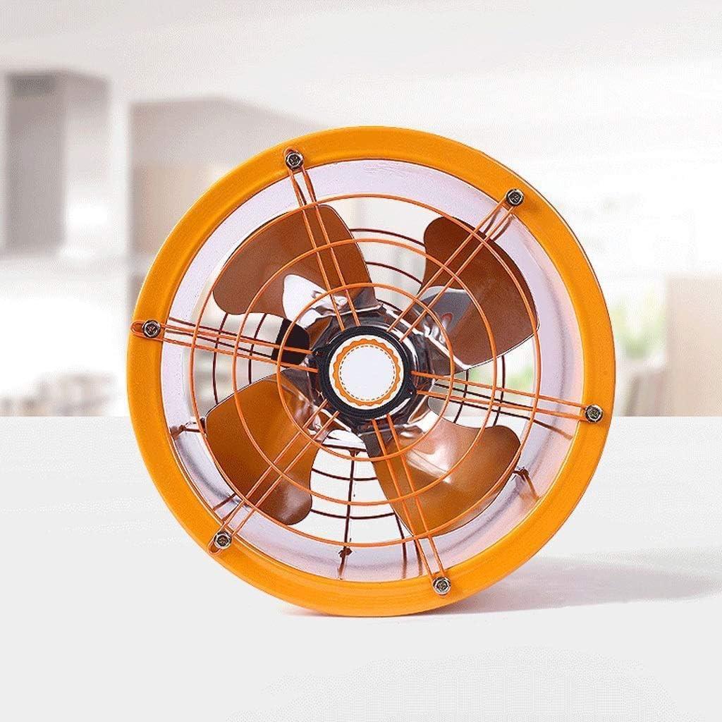GPWDSN Ventilador de Escape - Potente Ventilador de Tubo cilíndrico Ventilador de Escape Industrial Extractor de Humos de Cocina