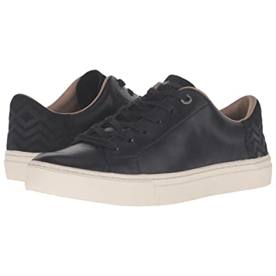 TOMS Lenox Sneaker (Black Leather) Women