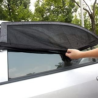 Shiwaki 1 Par De Cortinas Magn/éticas De Pantalla Parasol Lados Dobles Para Ventanas Laterales De Coche