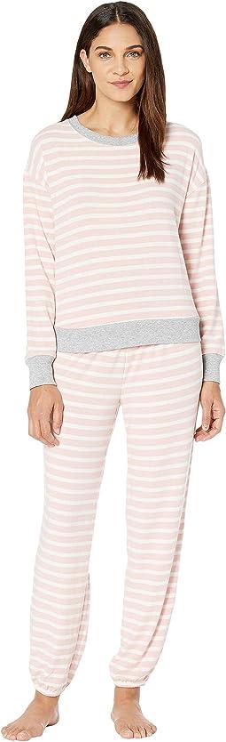 Blush Weekend Stripes