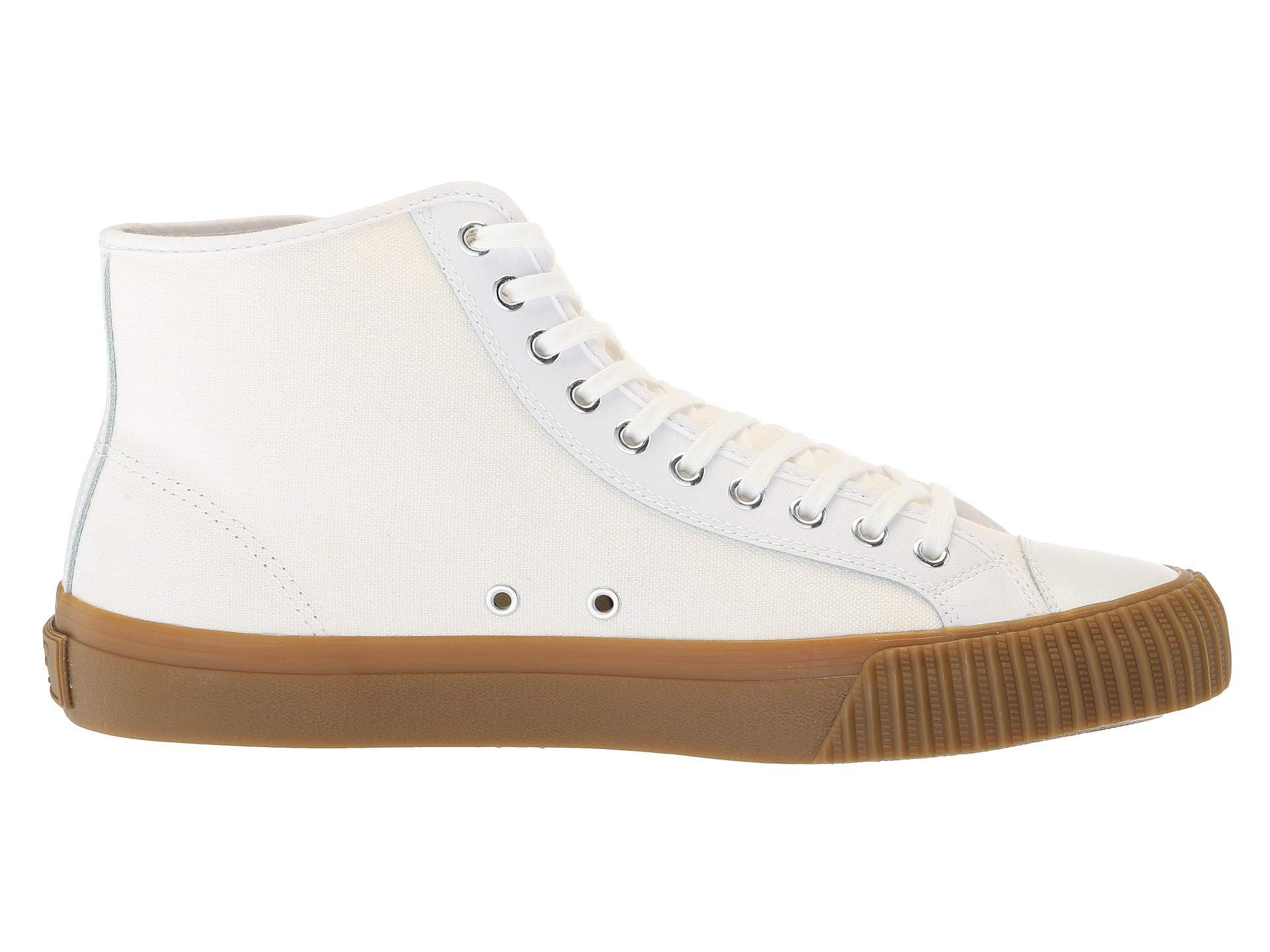 leather White Center Canvas Flyers Hi Pf qwgPnxHv1