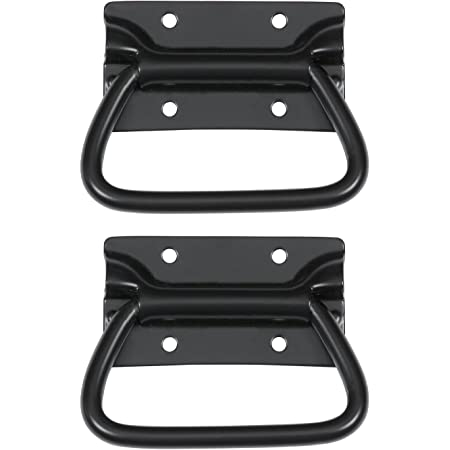 Reliable Hardware Company RH-0540BK-2-A Chest Handle, Black
