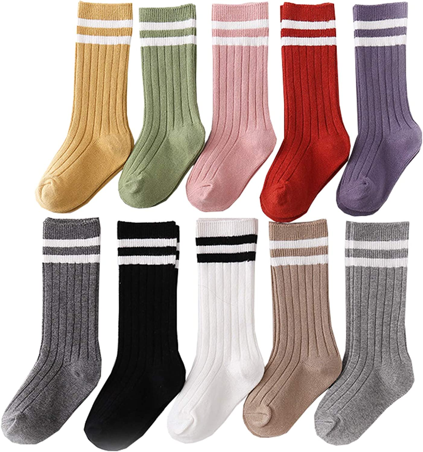 Mubineo Baby and Toddler Girl Comfy Cotton Socks