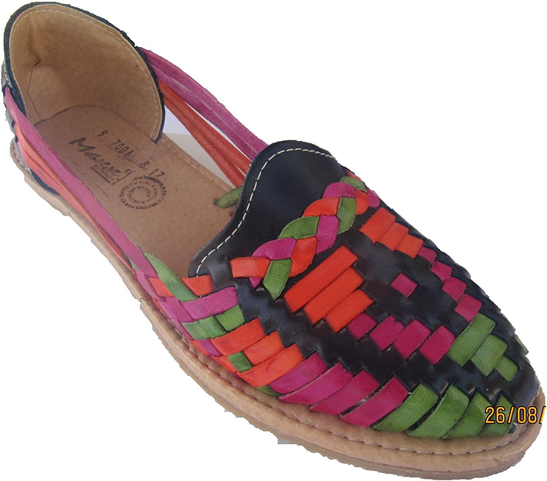 MAXX NEW YORK Leather Sandal shoes (Huaraches) Women's Maxx Handmade
