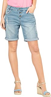 Fresh Made Boyfriend Jeans I Jeans Shorts Used Look for Women Top Quality thanks to Cotton Rich