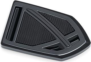 Kuryakyn 5749 Gloss Black Phantom Brake Pedal Pads for Harley-Davidson Motorcycles