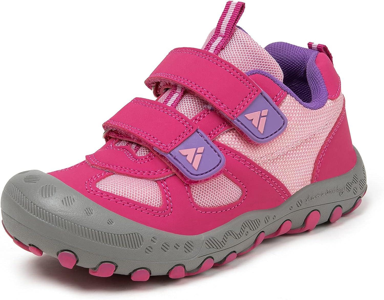 Pamray Boys Girls Hiking Shoes Climbing Collision Anti Cheap Max 75% OFF super special price Kids Trek