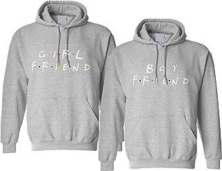 Couple Hoodie Girlfriend Boyfriend Love Friends Gift Matching Outfits