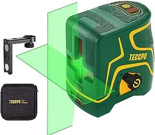 comprar comparacion Nivel Láser Verde 30m TECCPO, USB Carga,120°Horizontal y Vertical,Líneas Cruzadas,para Diseño de Interiores,Autonivelación...