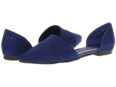 Chinese Laundry Easy Does It Flat (Bright Navy Suede) Women