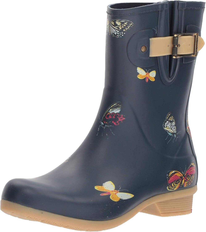 Chooka Womens Butterfly Mid Rain Boots