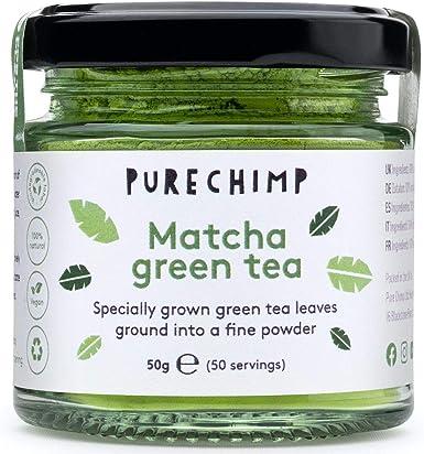 Matcha Green Tea Powder (Super Tea) 50g by PureChimp