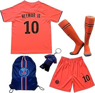 2019/2020 Paris Away #10 Neymar JR. Football Futbol Soccer Kids Jersey Shorts Socks Set Youth Sizes